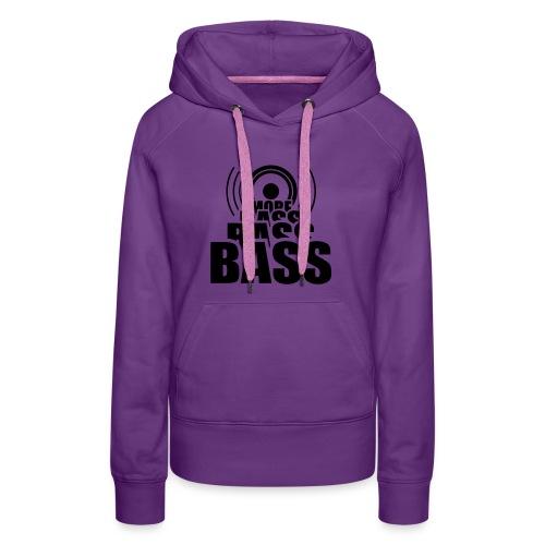 More bass - Frauen Premium Hoodie