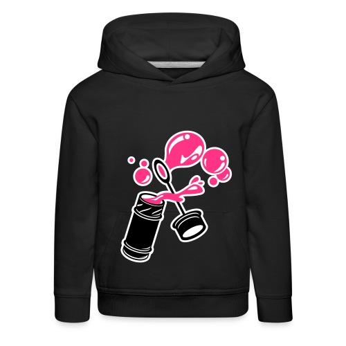 Pink Bubbles - Kinder Premium Hoodie