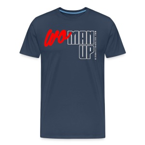 WoMan Up Men's T-Shirt - Men's Premium T-Shirt