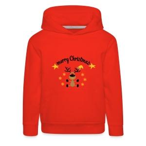 Christmas reindeer - Kids' Premium Hoodie