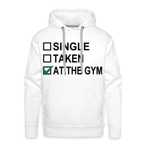 at the Gym - Männer Premium Hoodie