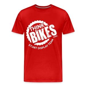 ThinkBikes T-Shirt (White Logo) - Men's Premium T-Shirt