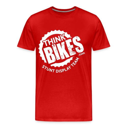 ThinkBikes T-Shirt (White Logo) - Men's Premium T-Shirt