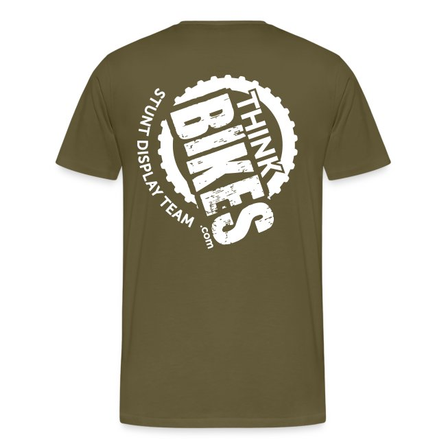 ThinkBikes T-Shirt (White Logo)