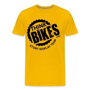 ThinkBikes T-Shirt (Black Logo) - Men's Premium T-Shirt