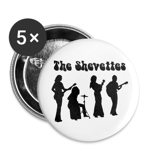 The Shevettes Button, groß - Buttons groß 56 mm