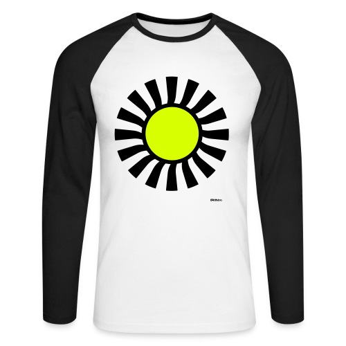 Strobo #3 MMML - Men's Long Sleeve Baseball T-Shirt