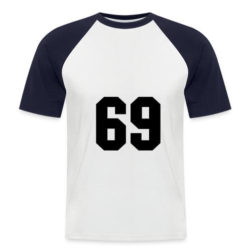 TOTAL 69 - Männer Baseball-T-Shirt