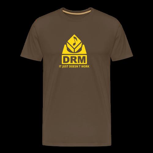 DRM Just doesnt work - Männer Premium T-Shirt