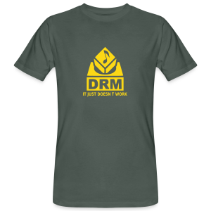 DRM Just doesnt work - Männer Bio-T-Shirt