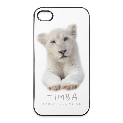 Coque iPhone 4/4S Timba bébé portrait - Coque rigide iPhone 4/4s