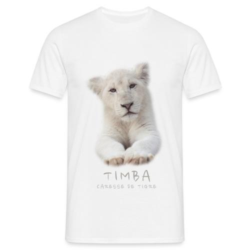 T-Shirt Homme Timba bébé portrait - T-shirt Homme