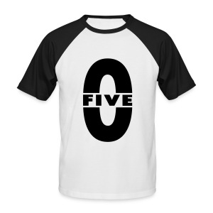 Tee shirt baseball manches courtes Homme Five-0 - T-shirt baseball manches courtes Homme
