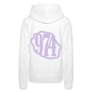 974 Classic - Sweat-shirt à capuche Premium pour femmes