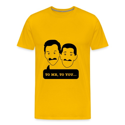 Chuckle Brothers - Up to 5XL Men's tshirt for Movember - Men's Premium T-Shirt