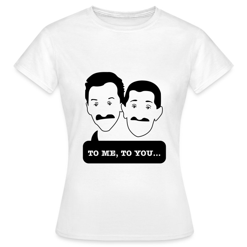 Chuckle Brothers - Women's tshirt for Movember - Women's T-Shirt