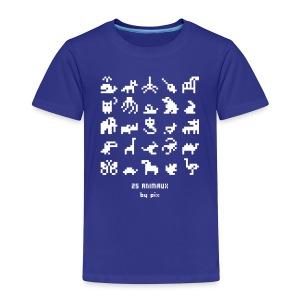 T-shirt-jeu 25·animaux - T-shirt Premium Enfant