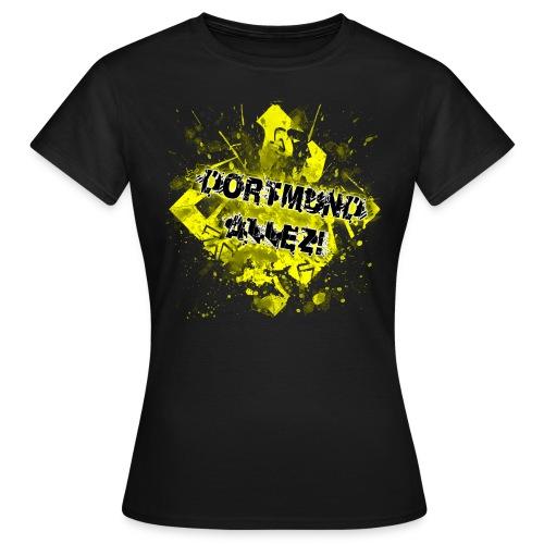 T-Shirt Dortmund Allez! - Frauen T-Shirt