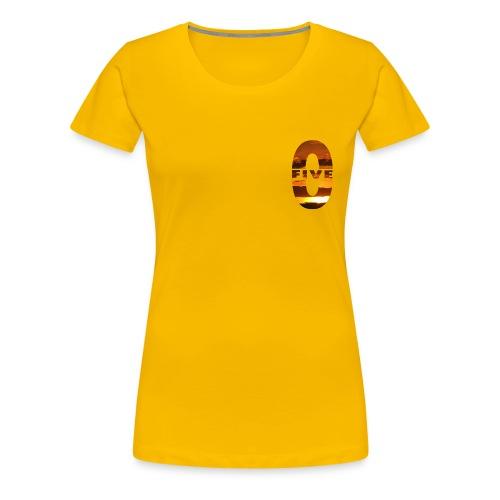 Tee shirt Premium Femme Five-0 Sunset - T-shirt Premium Femme