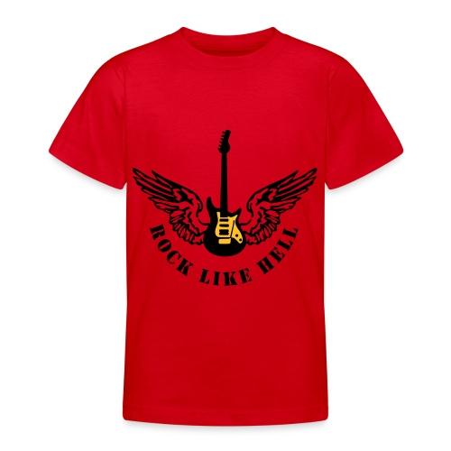 Chitarra alata Rocker - Maglietta per ragazzi
