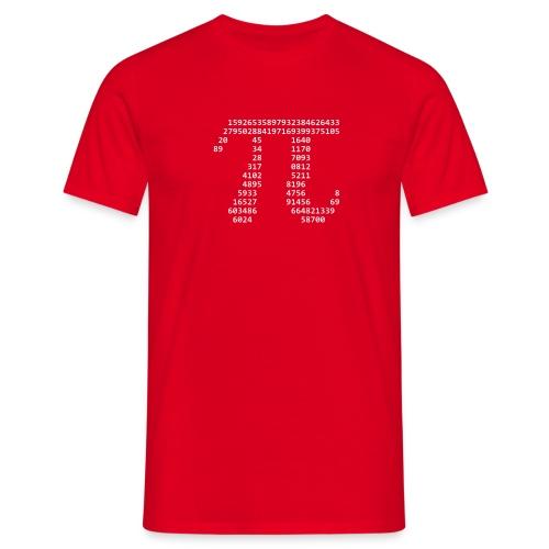 Pi Shirt (Weißes Logo) - Männer T-Shirt