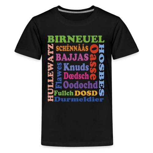 Ussdrögge - Teenager Premium T-Shirt