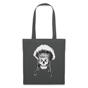 Skull Indian Headdress - cráneo - Bolsa de tela