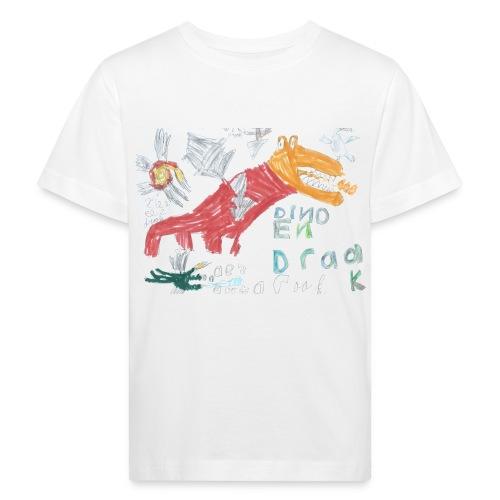 draak - Kinderen Bio-T-shirt