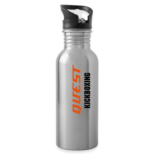 QUEST METAL THERMA- COOL WATER BOTTLE. - Water Bottle
