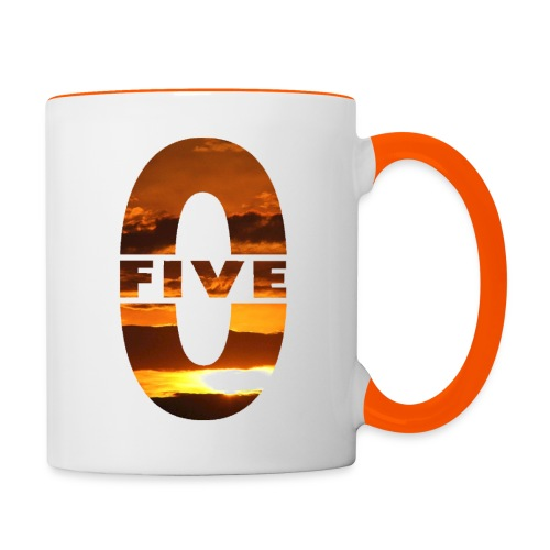 Tasse bicolore Five-0 Sunset - Mug contrasté