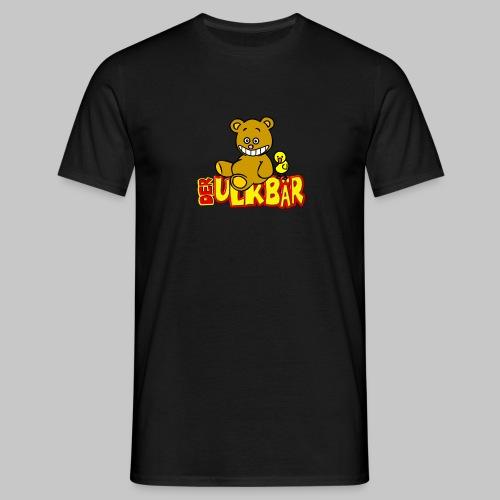 Ulkbär mit Vogel - Männer T-Shirt