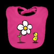 Baby Lätzchen ~ Baby Bio-Lätzchen ~ Lätzchen Vogel
