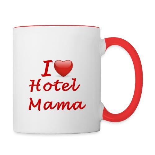 Hotel Mama twee kleuren mok - Mok tweekleurig