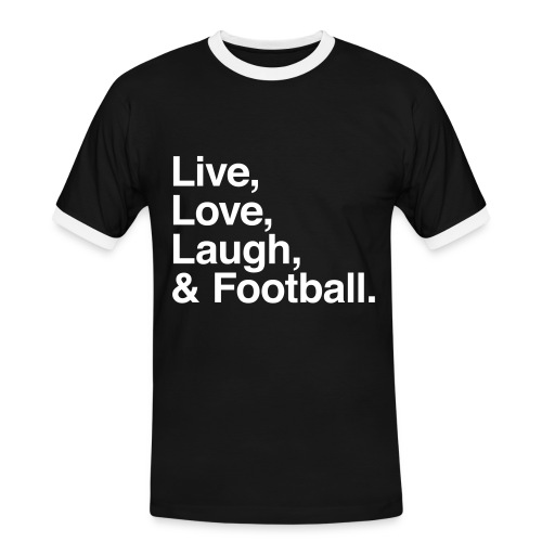 DOPEY CLOTHING SWAG - Herre kontrast-T-shirt