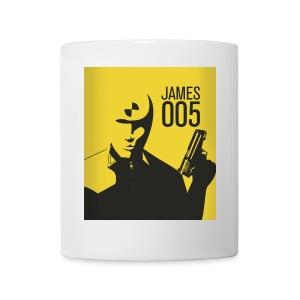 Tasse James 005 - Mug blanc