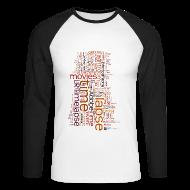 Langarmshirts ~ Männer Baseballshirt langarm ~ Long Sleeve