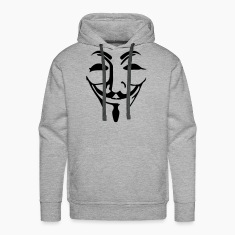 Anonymous Maske fawkes Pullover & Hoodies