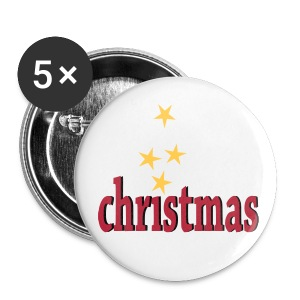 Christmas stars - Buttons large 56 mm