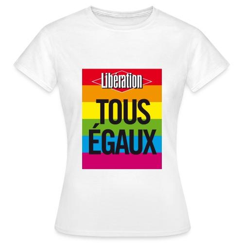 Tous égaux - T-shirt Femme
