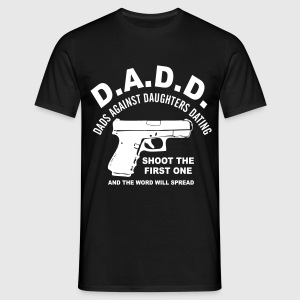 dads against dating daughters - Men's T-Shirt