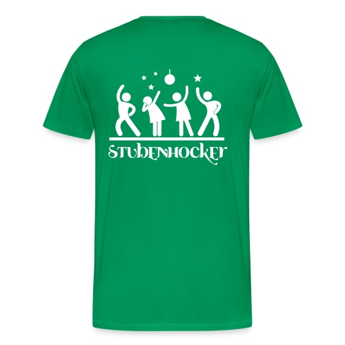 Männer T-Shirt Klassisch grün - Männer Premium T-Shirt