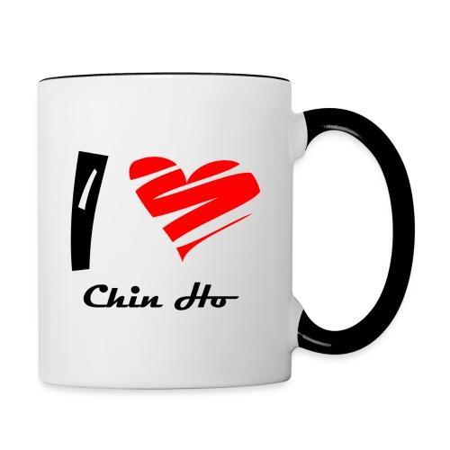 Tasse bicolore Chin - Mug contrasté