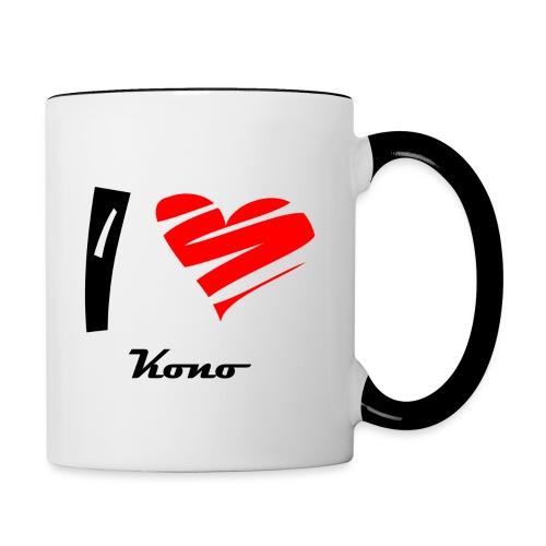 Tasse bicolore Kono - Mug contrasté
