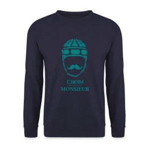 Monsieur joue au rugby #Helmet - Sweat-shirt Homme