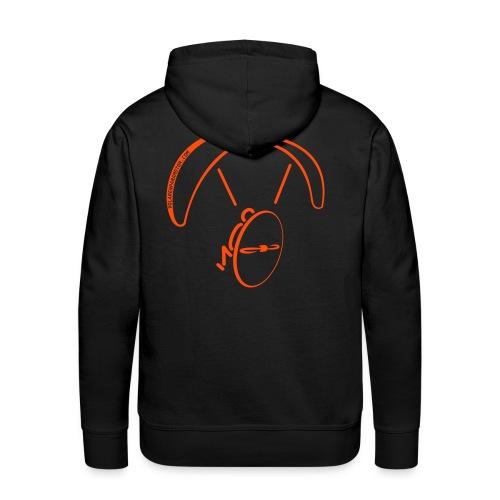 Sudadera con capucha paramotor  naranja - Sudadera con capucha premium para hombre