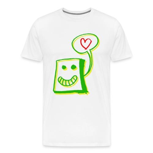 Herzkiste - Männer Premium T-Shirt