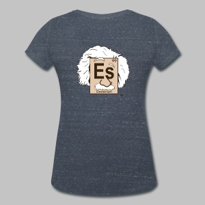 T-shirt Femme (woman) Einsteinium - Women's Organic V-Neck T-Shirt by Stanley & Stella