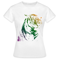 Tee shirts ~ Tee shirt Femme ~ Tiger - Girl