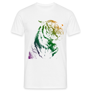 Tiger - Tee shirt Homme