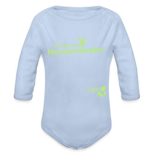 Baby Langarm-Body Neuseenländer - Baby Bio-Langarm-Body